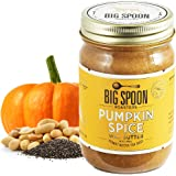 Big Spoon Roasters Pumpkin Spice Wag Butter - Peanut Butter for Dogs - All Natural & Healthy Dog Peanut Butter - Puppy Treats