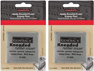 product image for 2-Pack - General Pencil Jumbo Grey Kneaded Eraser