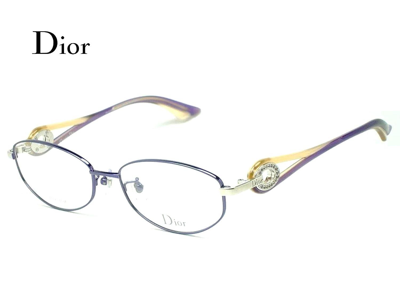 ディオール CD7756J 9C2  【Dior】 purple 『新品正規品』  メガネフレーム ◆◆ B0752F5JR7