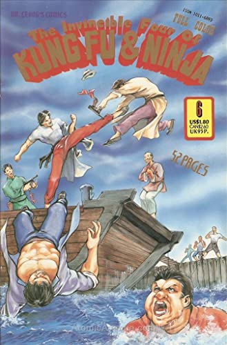 Amazon.com: Invincible Four of Kung Fu & Ninja #6 VF/NM ; Dr ...