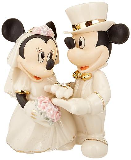 76adf1784a68 Amazon.com  Lenox Disney s Showcase Minnie s Dream Wedding  Home   Kitchen