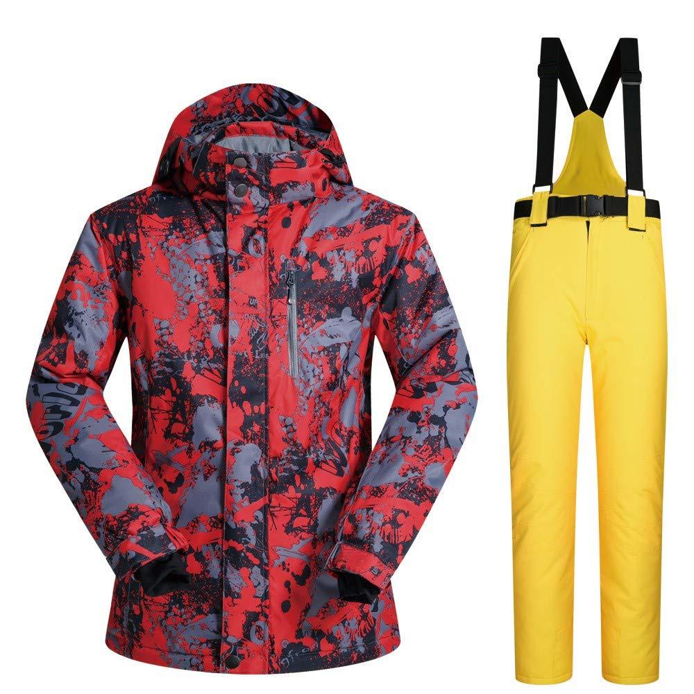 Pantalone da Sci da Uomo, Impermeabile, Caldo, 2 2 2 Set AddensatoB07L2QVT6GM E | Nuovi prodotti nel 2019  | Vari disegni attuali  | finitura  | attività di esportazione in linea  | Servizio durevole  | La Vendita Calda  fa98ca