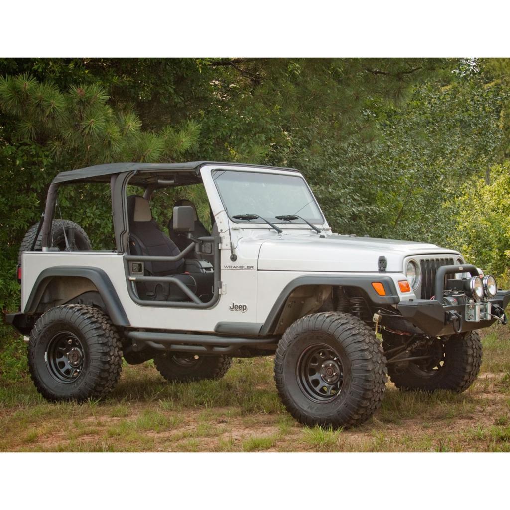 Rugged Ridge 11509.20 Black Textured Tube Door For Jeep