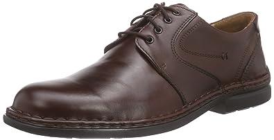 ea9828fda13c0 Amazon.com   Josef Seibel Men's Walt Leather Lace Up Smart Shoes ...