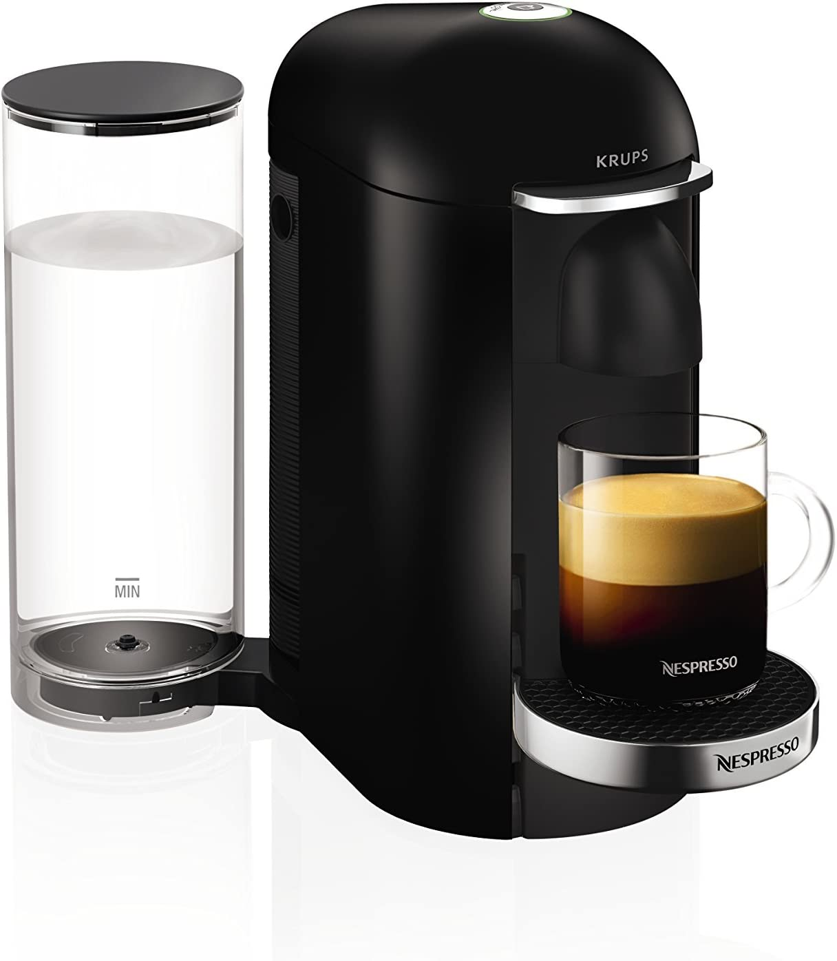 Nespresso Vertuo Plus Black Finish By Krups Renewed
