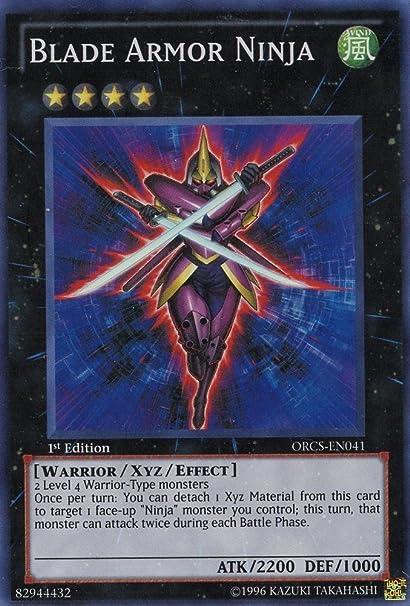 Amazon.com: Yu-Gi-Oh! - Blade Armor Ninja # 41 - Order of ...