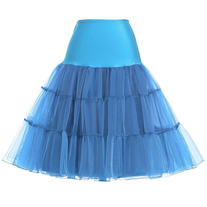 Crinoline Skirt | Crinoline Slips | Crinoline Petticoat GRACE KARIN Women 50s Petticoat Skirts Tutu Crinoline Underskirt CL8922 $14.99 AT vintagedancer.com