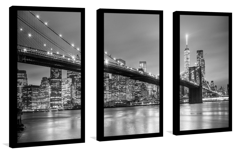 Picture Perfect InternationalNew York Framed Plexiglass Wall Art Set of 3