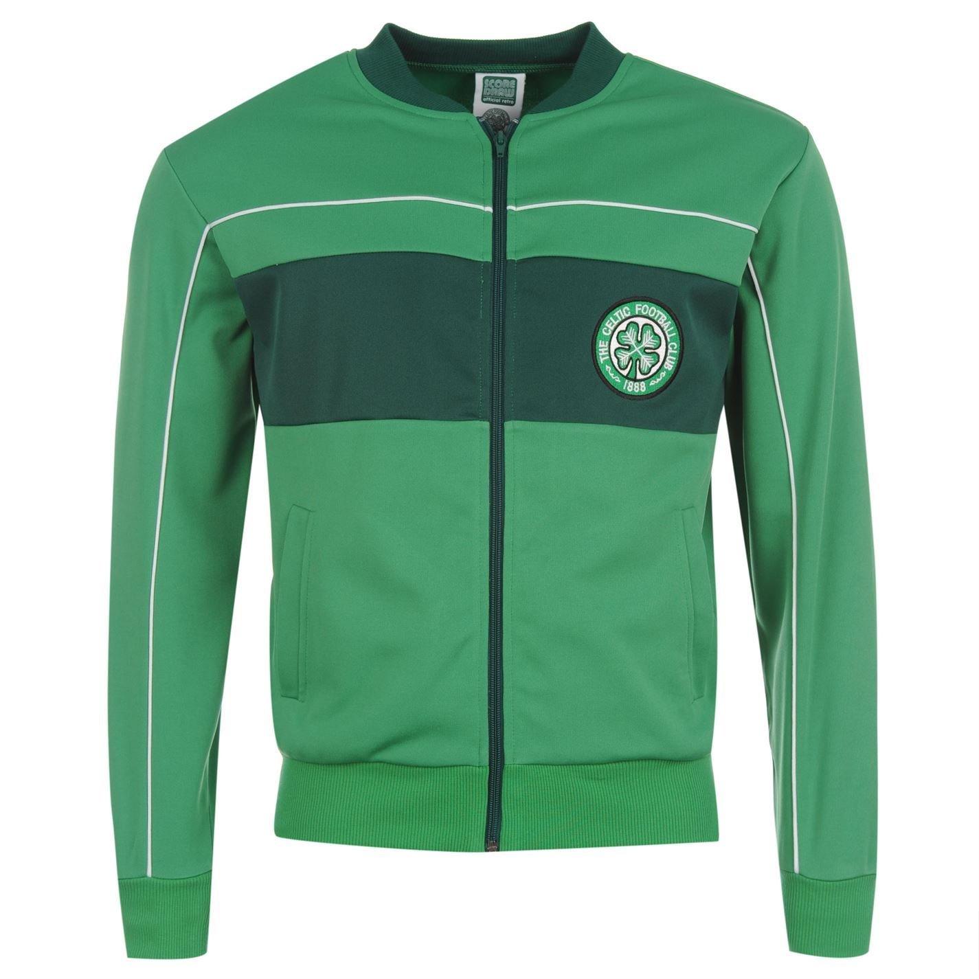 Score Draw Retro Celtic 1984 doméstica Chaqueta de chándal de ...