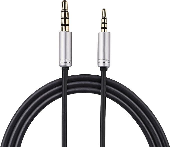 Cable de Audio de Repuesto para Auriculares AKG Y40 Y45BT Y50BT Y50 Y55 con Control Remoto de micr/ófono para Smartphones iOS Andriod