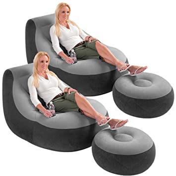 Intex Chair And Ottoman