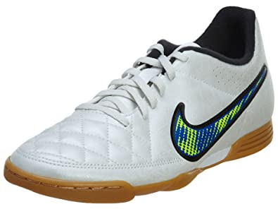 b9c640526219 NIKE Tiempo Rio II Ic Men's Indoor 631523 White Size: 10 UK: Amazon ...