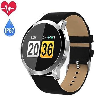 OUKITEL OLED Reloj Inteligente, Bluetooth Reloj de pulsera ...