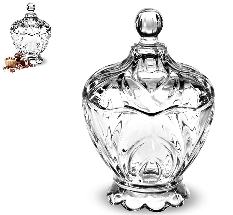 –Bombonera de cristal–14cm) AVENUELAFAYETTE