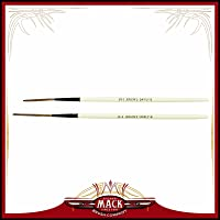 Set of 2 Size 1-2 The Jenson Swirly Q Series For Scroll Pinstriper and Script Lettering