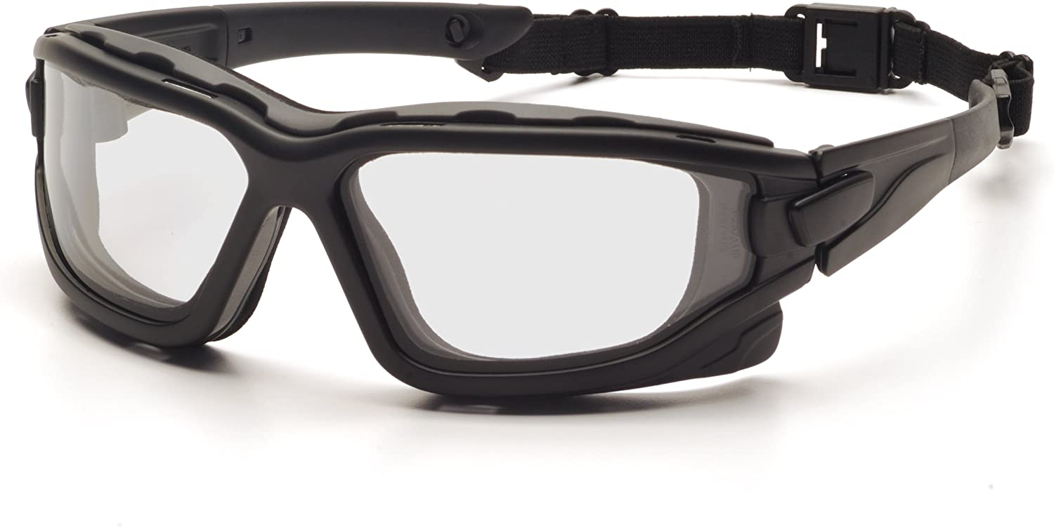 Pyramex I-Force deportivo Panel de doble lente anti niebla gafas