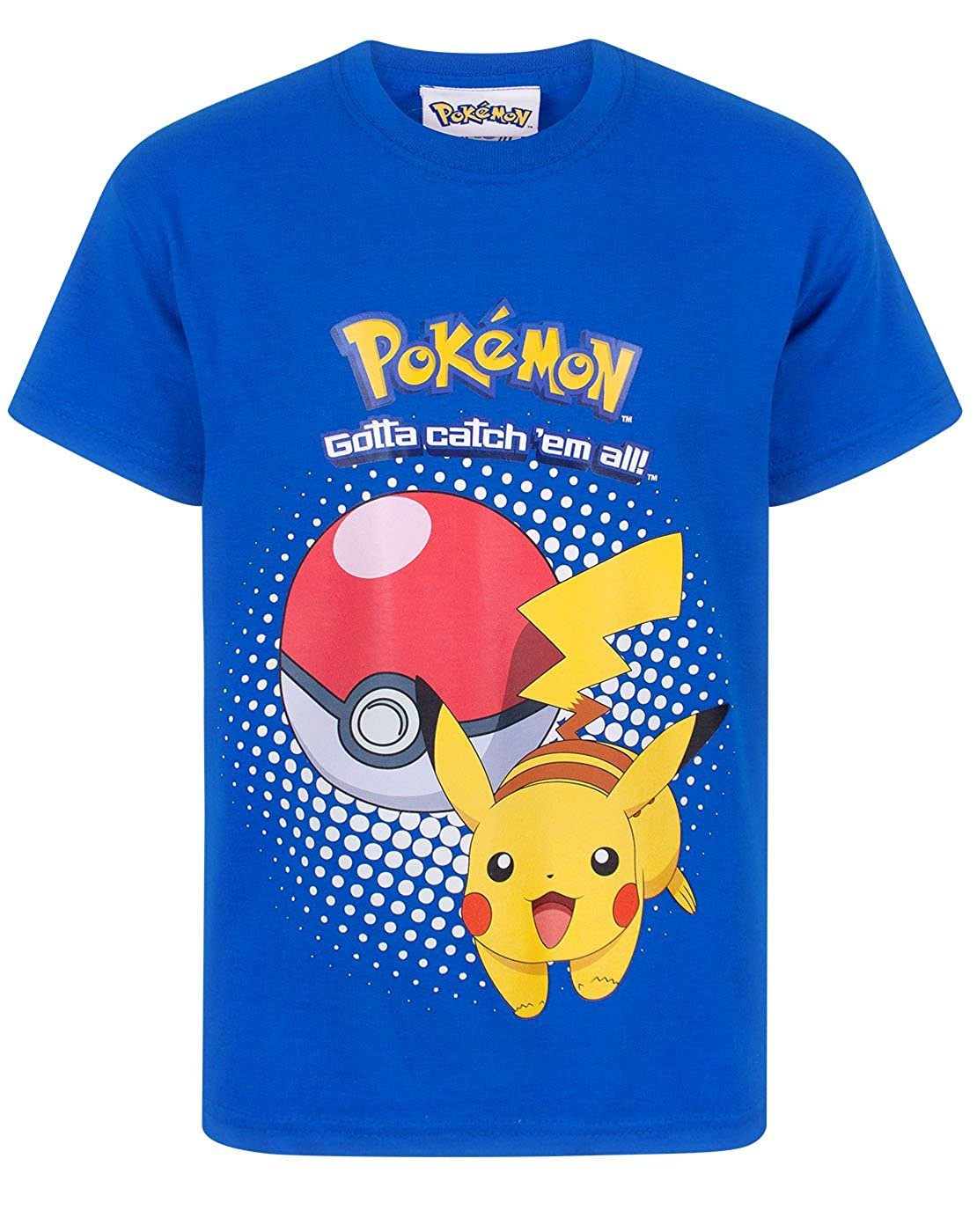 Pokemon Pikachu Pokeball Kids T-Shirt Official