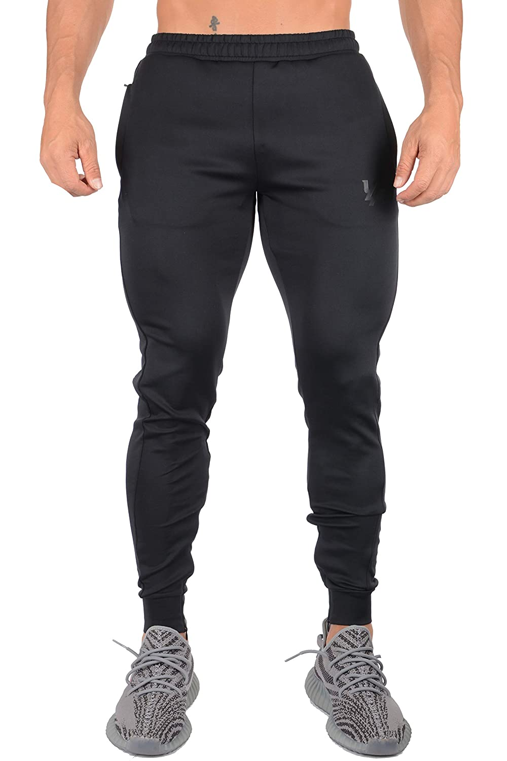 89d55a5c6fb84 Amazon.com  YoungLA Athletic Track Pants for Men Joggers Slim Fit Workout  Gym Lounge 215  Clothing