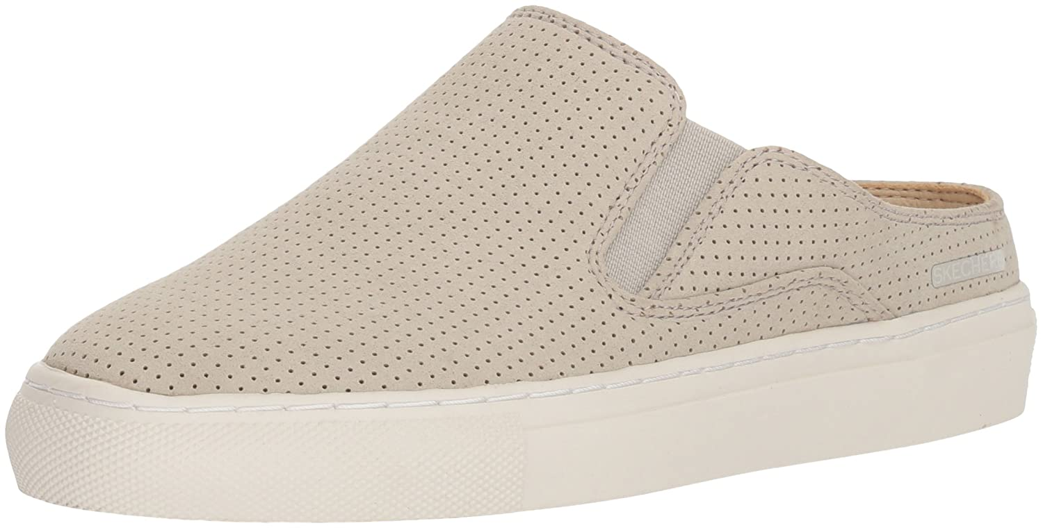 Skechers レディース VASO MITAD Perfed Twin-Gore Open-Back with Air-Cooled Memory Foam B0797R5WB4 9 B(M) US|ナチュラル ナチュラル 9 B(M) US