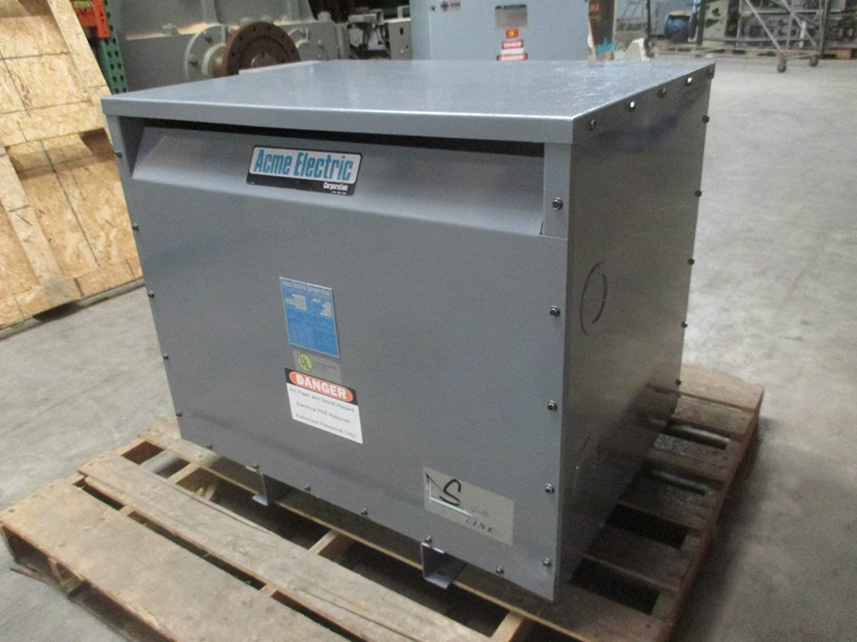 Acme 75 kVA 480Y/277 to 208Y/120 Volts SL-52710 3PH Dry Type