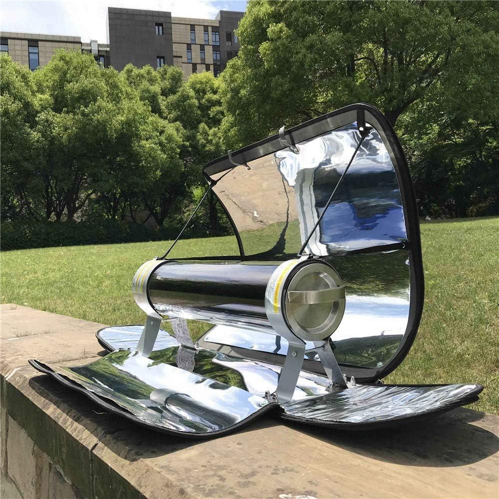 550 /° F InLoveArts Solarkocher Gep/äcktyp Solarkocher Tragbarer Parabol-Solarkocher mit h/öherer Effizienz Maximale Temperatur 288 /° C