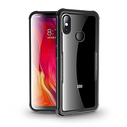 Amazon.com: Funda para Xiaomi Mi 8, MYLBOO transparente y ...