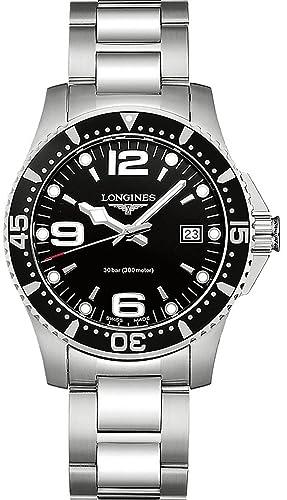 Longines Reloj Analógico para Mujer de Cuarzo con Correa en Acero Inoxidable L37404566: Amazon.es: Relojes