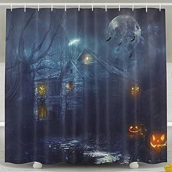 Halloween Thema Dekoration Vorhang für die Dusche für ...