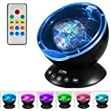 Newest Design Remote Control Ocean Wave Projector 12 Led