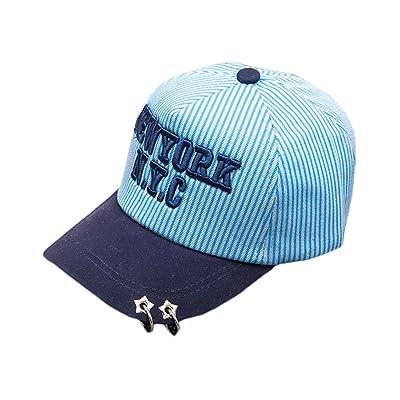 4URNEED Boys Girls Unisex Summer Caps Hats Camping Caps Outdoor Basecap Baseball Cap