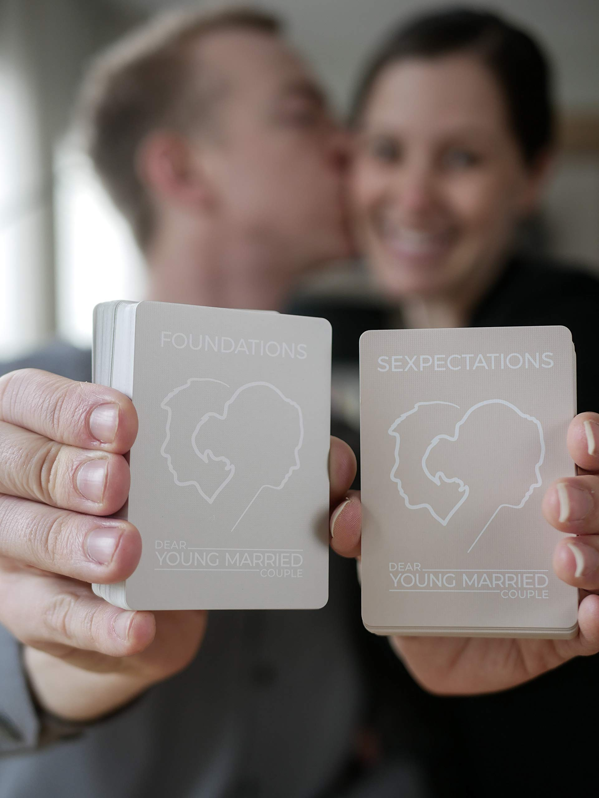 SEXPECTATIONS Card Deck - Conversation Starters for Couples - 52 Questions on Intimacy - Fun Marriage Road Trip Cards Game - Communication in Relationships - Honeymoon - Wedding Gift by Dear Young Married Couple