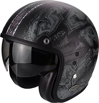 Amazon.es: Scorpion Belfast urbex - Casco de moto de tipo jet