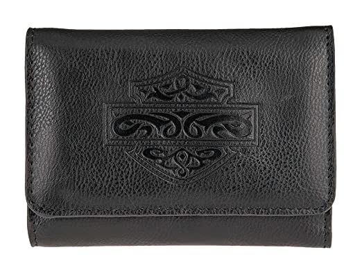 Harley-Davidson Women s Celtic Embossed B S Leather Wallet ... f5c808dfeb