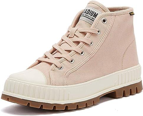 Details about  /Palladium Pallashock Og Unisex Rose Fashion Trainers 5 UK
