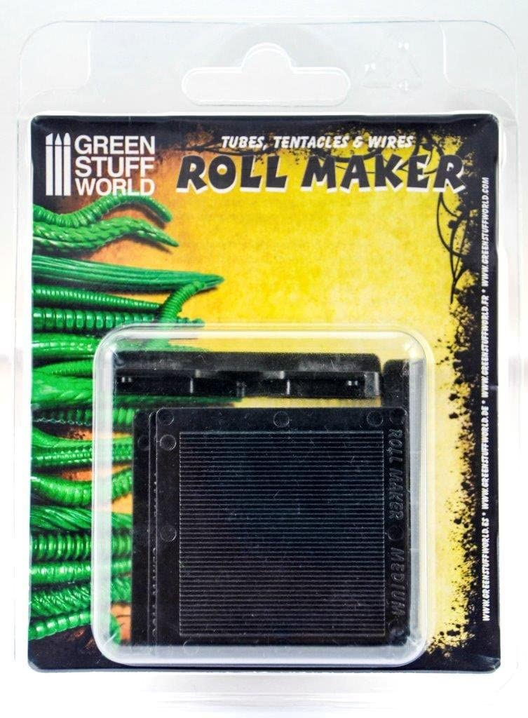 Tool to make tubes tentacles /& wires with clays putty and green stuff ROLL MAKER