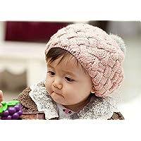 bebé apoyos niños sombrero de la foto del bebé de la gorrita tejida, gorros de piel de conejo de imitación bebes casquillo del ganchillo de la gorrita tejida niño de 4 meses a 3 años de la muchacha, CTL