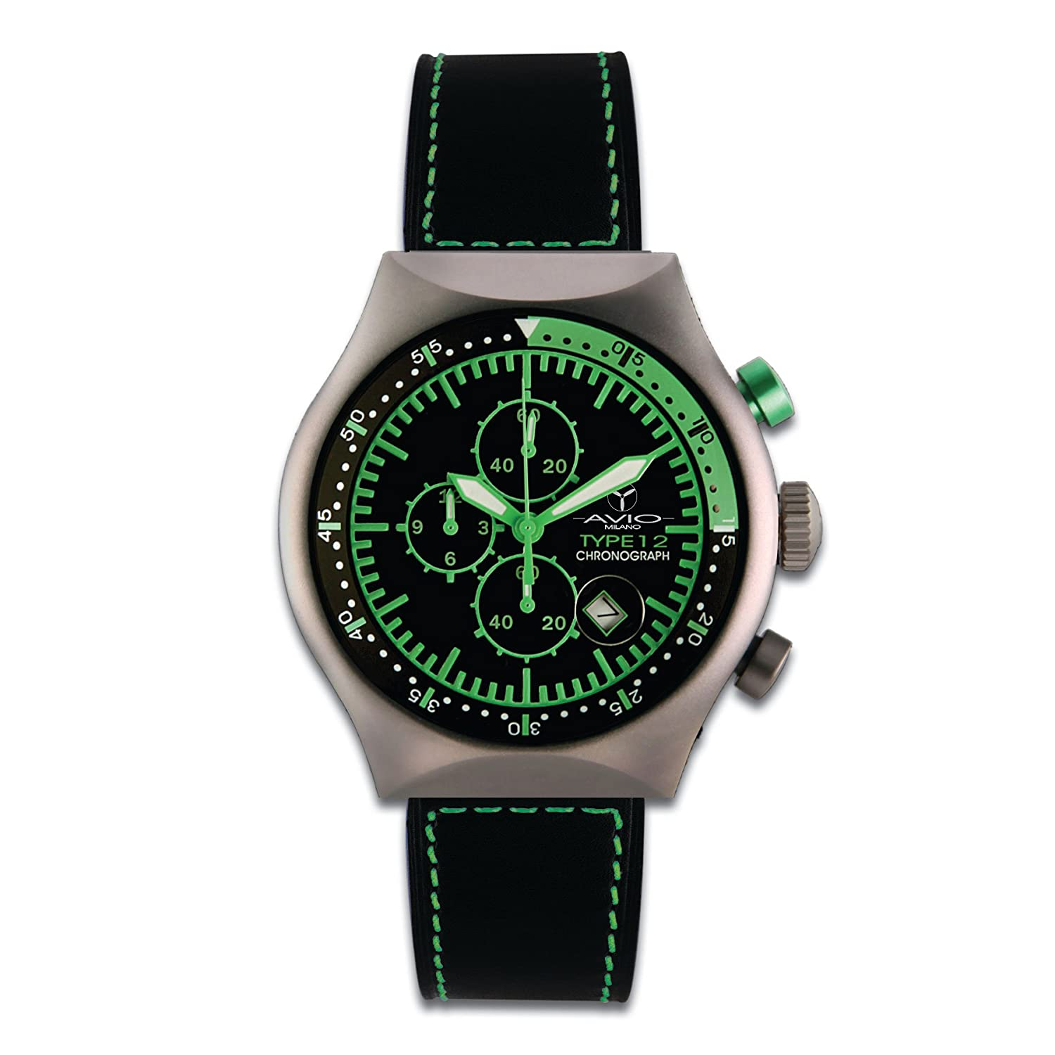 Avio Milano 45 MM TP GREEN Armbanduhr - 45 MM TP GREEN