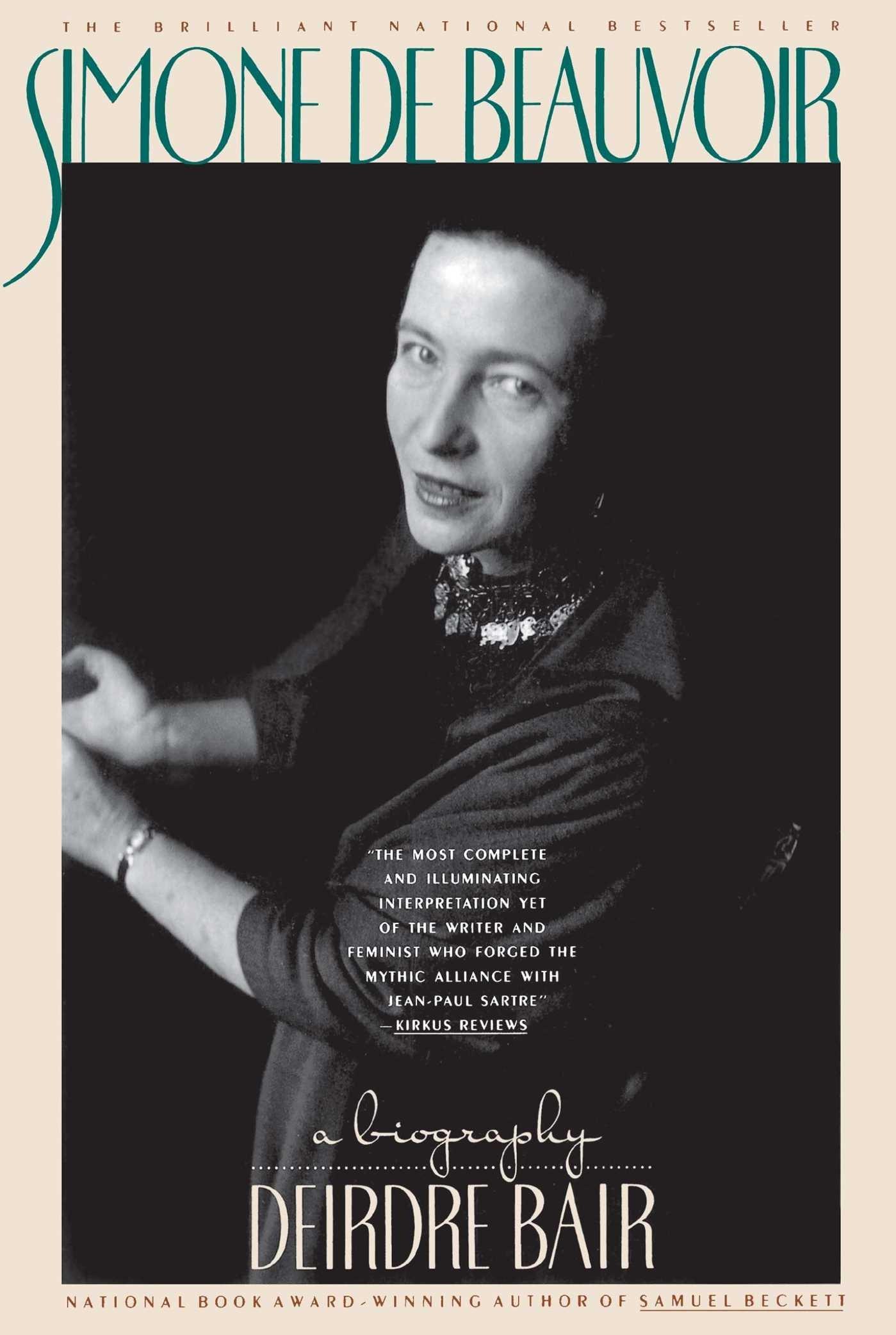 Simone De Beauvoir: A Biography: Amazon: Deirdre Bair: 0076714043954:  Books