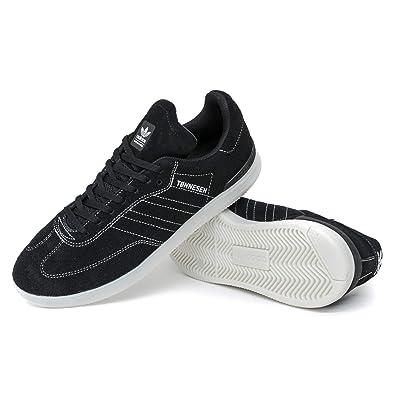 adidas Samba ADV Black & White Shoes Zumiez adidas Samba ADV Sko Herre Skateboarding