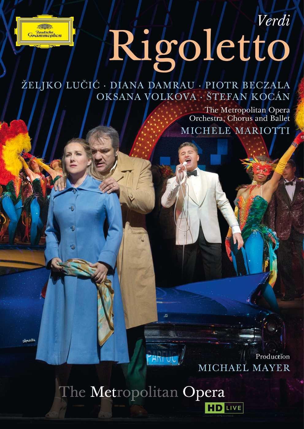 DVD : Zeljko Lucic - Rigoletto (DVD)