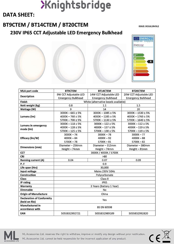 Knightsbridge Bezel for BT14 Black Polycarbonate