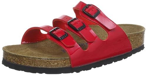 802120480d3 Birkenstock Women s Florida Fresh Soft Footbed Milky Way Red Birko-Flor  Sandal 36 (US