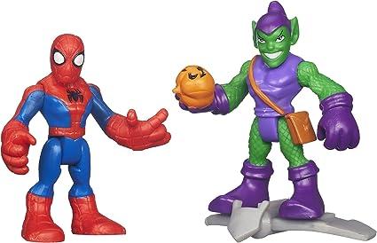 Playskool Heroes Marvel Super Hero Adventures Green Goblin w// Glider