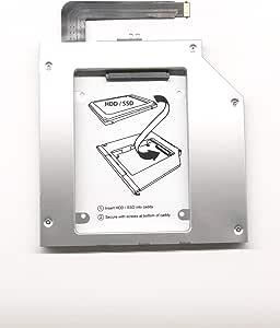 2nd HDD/SSD Caddy for HP Omen 17-an000nr Through 17-an1XXnr