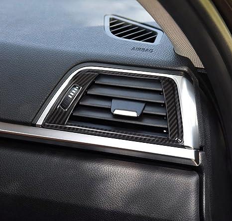 2pcs ABS salpicadero aire acondicionado Vent marco embellecedor para 3 4 serie F30 F34 320 316