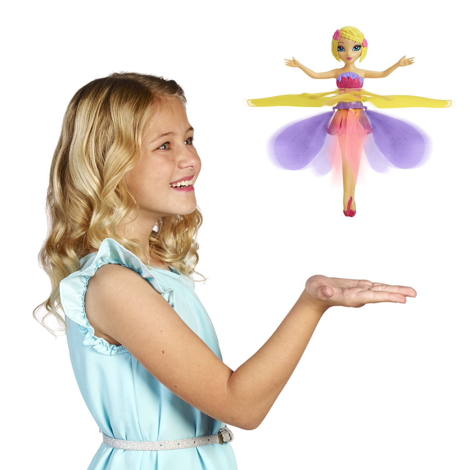 FlutterbyeTM Flying Flower Fairy Amazon Toys & Games