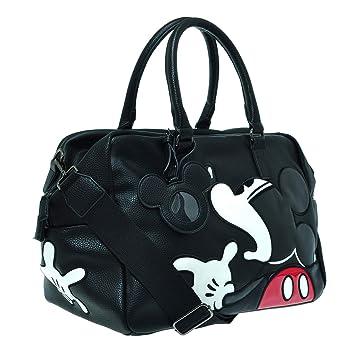 Disney Equipaje de Viaje Duffel Mickey Mouse Bolsa (L, Negro): Amazon.es: Equipaje