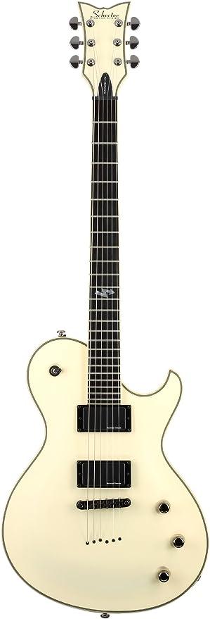 Schecter Blackjack ATX solo-6 guitarra eléctrica – años blanco ...