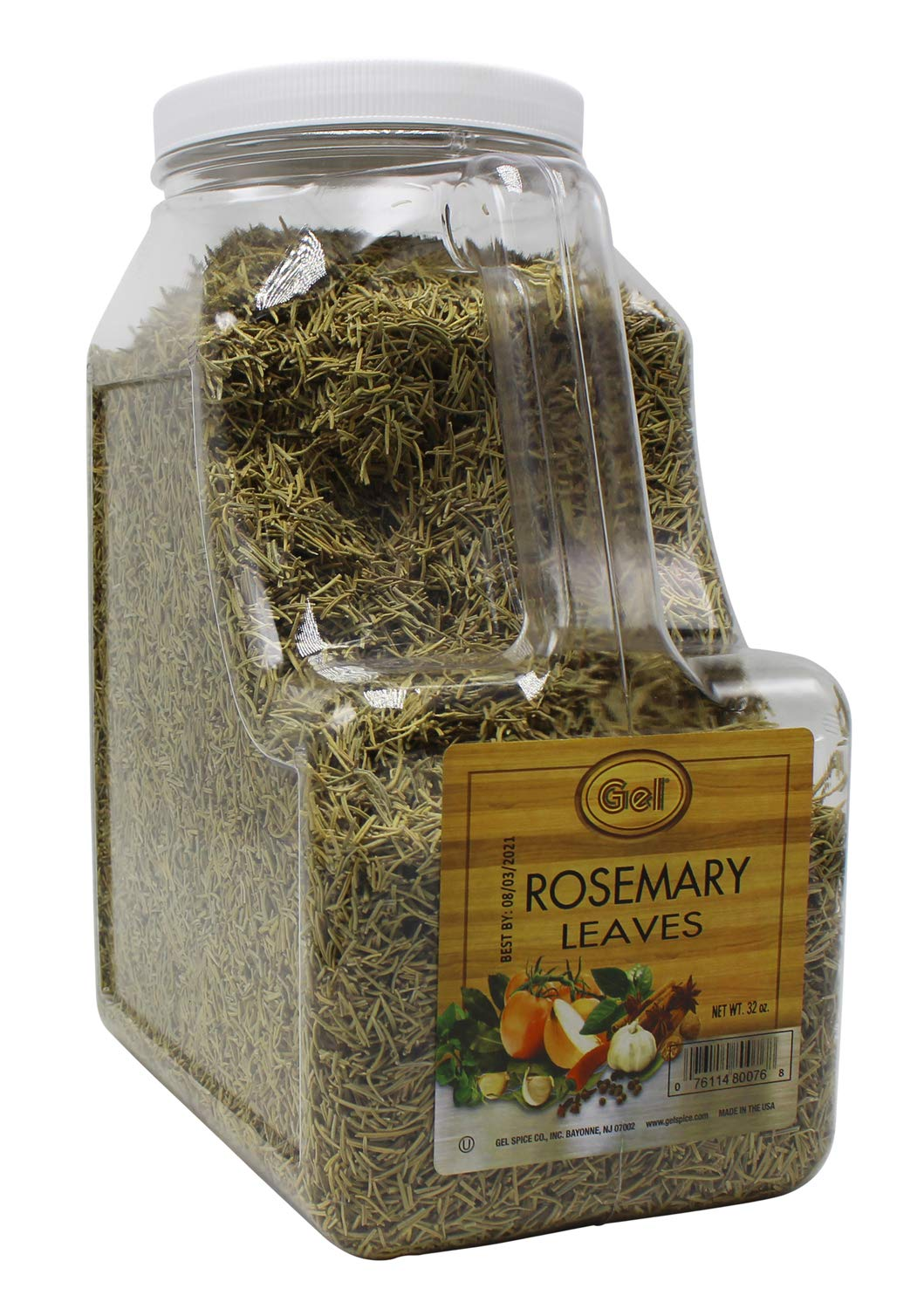 Gel Spice Rosemary Leaves 32oz | Food Service Size
