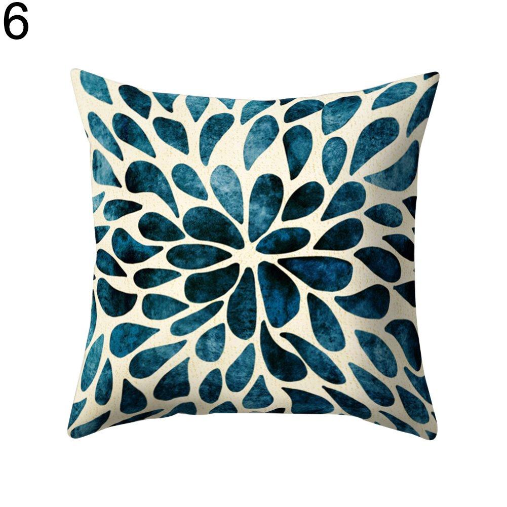 Sukisuki - Funda de Cojín para sofá, Cama, 16 Colores ...